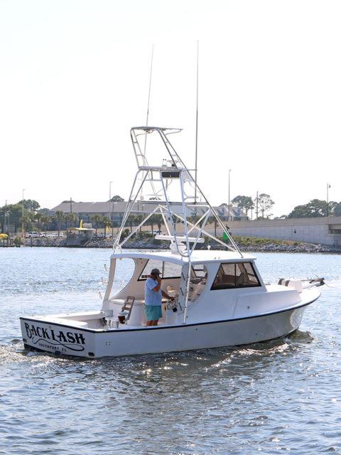 "Deep sea fishing boat - ""Backlash"""